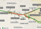Al Wajba Interchange will see a traffic diversion come Friday