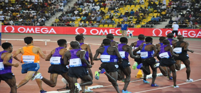 IAAF Diamond League opens in Qatar, fans flock to show their support