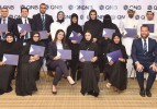 Employees from Qatar National Bank honored for completing English program