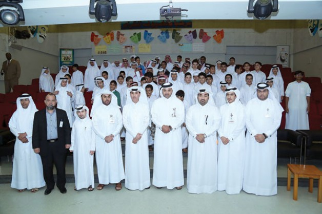 Ashghal hosts a presentation at Al Wakra Preparatory School to give details on ongoing projects