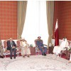 Emir meets defence ministers and chiefs of staff