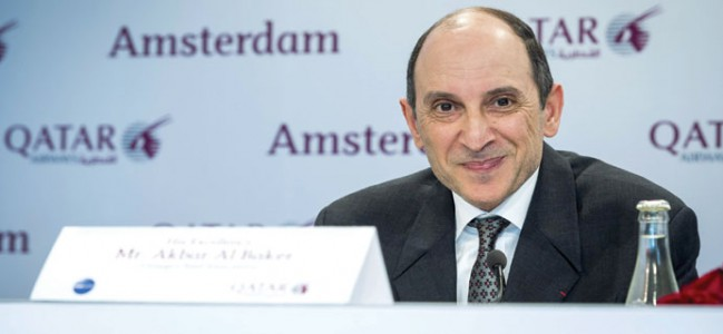 Qatar Airways  CEO presses  for flight slots