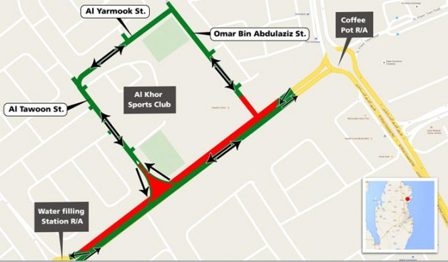 Traffic to be diverted in Al Khor for two months