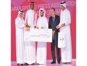 Barshim awarded Arab Sporsman of the Year
