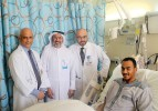 Three kidney transplants carried out by HMC in the matter of three days