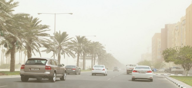 Heavy sand storms likely in Qatar